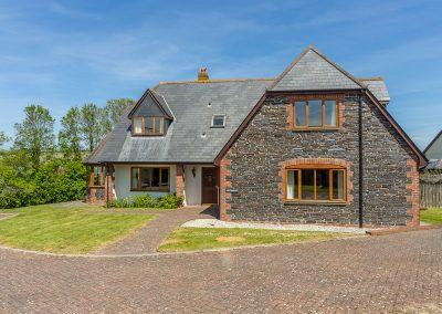 Outside September Cottage, Roserrow, Polzeath