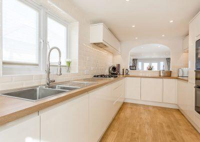 The kitchen at Serena, Carbis Bay