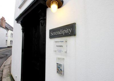 Outside Serendipity, Fowey