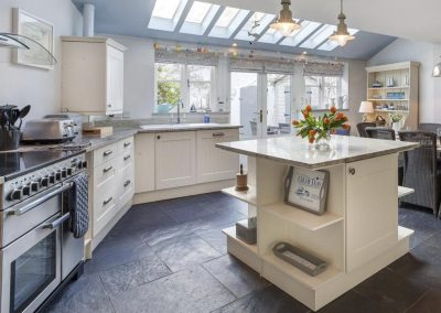 The kitchen at Shaldon Cottage, Shaldon