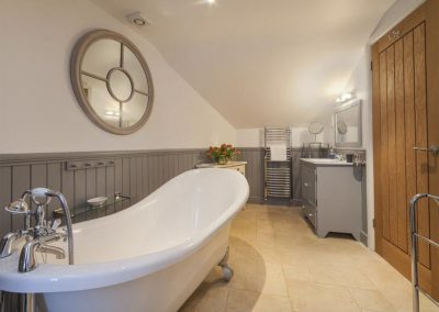 Bedroom #1 en-suite at Shaldon Cottage, Shaldon
