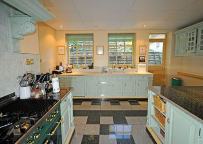 The kitchen @ Singleton Manor, Torquay
