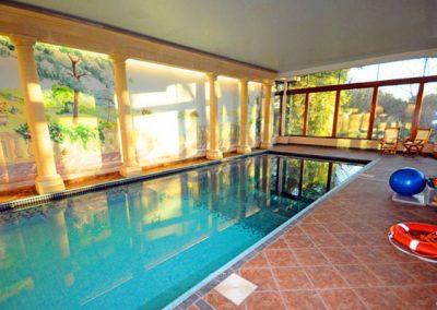 The swimming pool @ Singleton Manor, Torquay