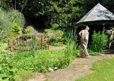 The garden @ Singleton Manor, Torquay