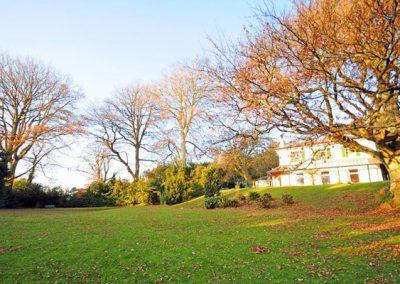 The impressive impressive grounds of Singleton Manor