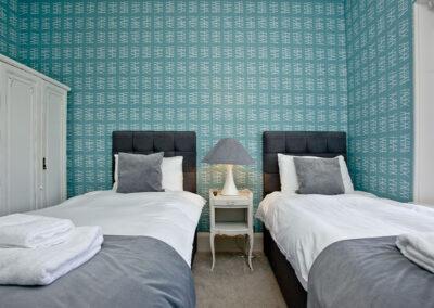 Bedroom #2 at Sir Arthur Conan Doyle, 1 Elliot Terrace, Plymouth