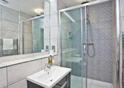 The bathroom at Sir Arthur Conan Doyle, 1 Elliot Terrace, Plymouth