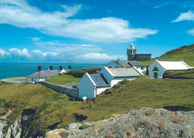 Siren is one of four holiday cottages at Bull Point Lighthouse, Mortehoe