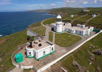 Stunning panoramic views from Pendeen Lighthouse, Pendeen