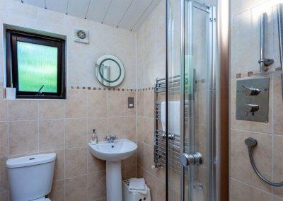 Bedroom #1 en-suite at Spindrel, Gara Mill, Slapton