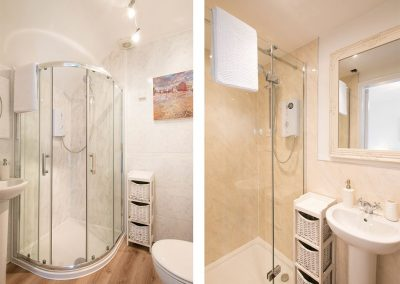 The bathroom at Spiral View, Perranporth