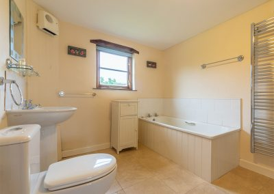The bathroom at Spring Barn, Rock