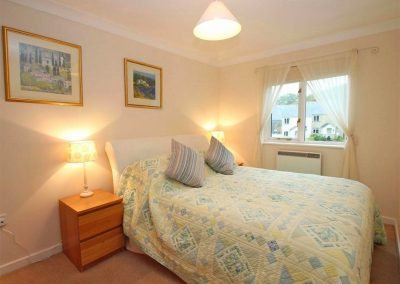 Bedroom #1 at Spring Tide, Pendra Loweth, Falmouth