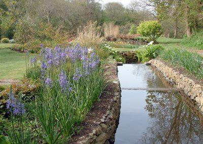 The beautiful gardens at Bonython Estate, Cross Lanes