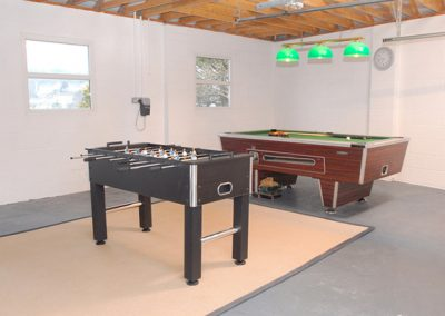 The games room @ Springfield, Torquay