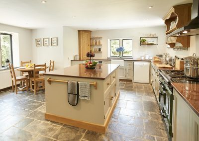 The kitchen at St Petroc, Charles