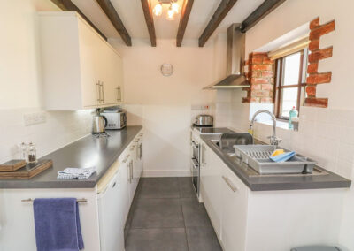 The kitchen at Stable Cottage, Colyton