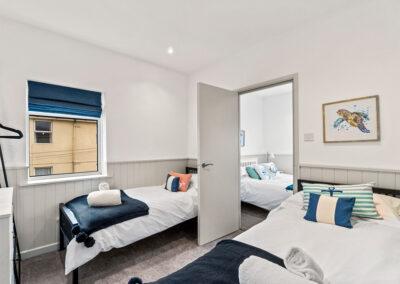 Bedroom #2 at Starfish Shack, Sunnybeach Apartments, Paignton