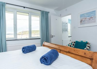 Bedroom #1 at Stone House, Perranporth