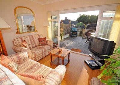 The living area @ Sundeck, Brixham