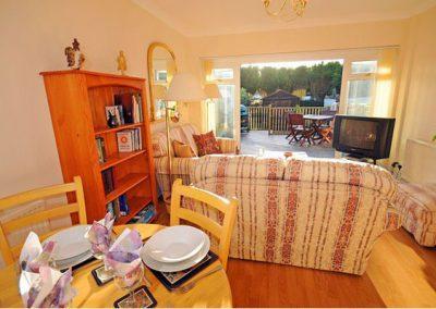 The dining area @ Sundeck, Brixham