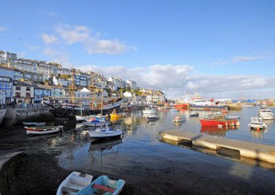 The harbour is just a 15 minute walk from Sundeck, Brixham