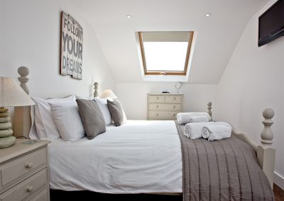 Bedroom #1 at Sunnymead Penthouse, Exmouth