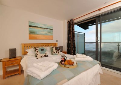 Bedroom #1 at Sunrise, Nassau Court, Westward Ho!