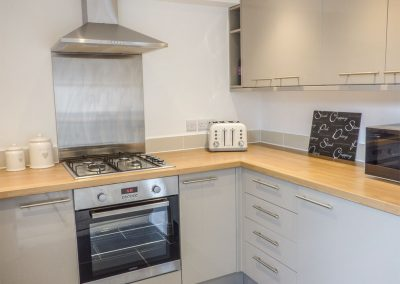 The kitchen at Sunvale, Teignmouth