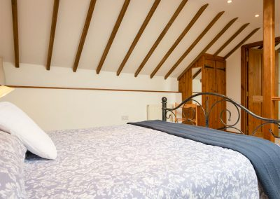 The bedroom at Swallows Nest, Patchole