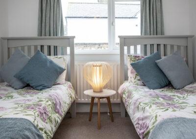 Bedroom #2 at Swan Cottage, Dawlish