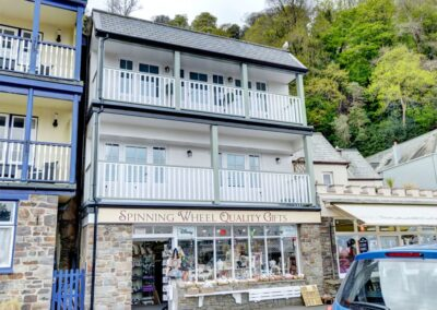 Outside Sweet As Can Be, Lynmouth