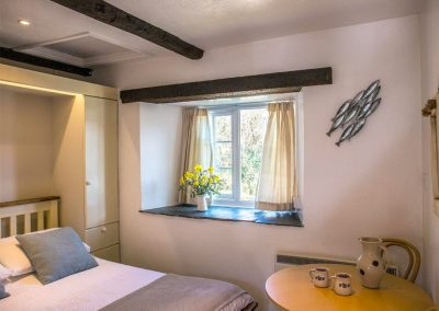 The bedroom at Tack Room, Blagberry