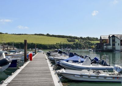 Tappers Quay 2, Salcombe is situated on the waters edge