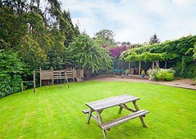 The garden at Tarragon Cottage, Nethway Farm, Boohay