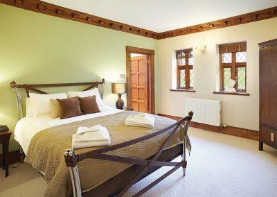 Bedroom #1 at Tawstock Castle, Tawstock