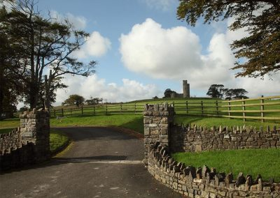 The approach to Tawstock Castle, Tawstock