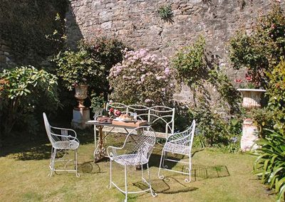 The garden at The Abbey, Penzance