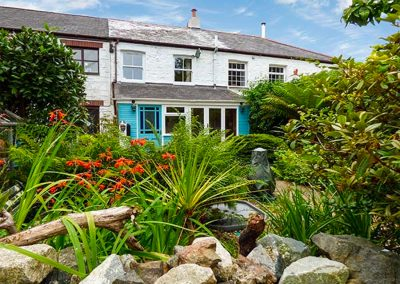 The garden at The Ark Cottage, St Blazey