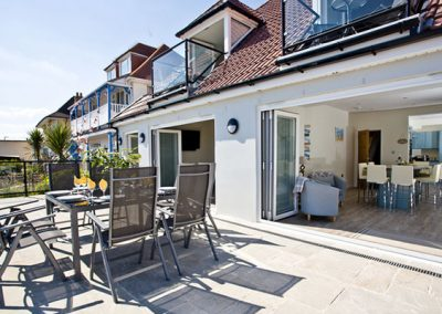 The terrace @ The Beach Retreat, Paignton
