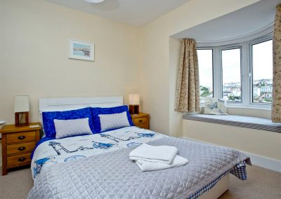 Bedroom #1 at The Crows Nest, Brixham