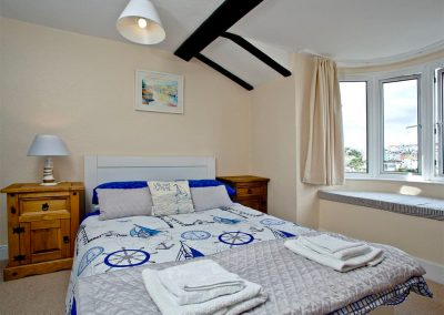 Bedroom #2 at The Crows Nest, Brixham