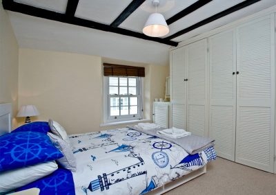 Bedroom #3 at The Crows Nest, Brixham