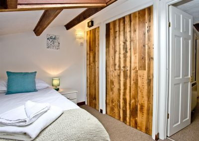 Bedroom #2 at The Cwtch Cottage, East Thorne, Kilkhampton