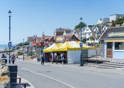 Woolacombe is just a fifteen minute stroll from The Early Risers, Woolacombe