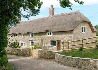 Outside The Farmhouse at Higher Westwater Farm, Westwater