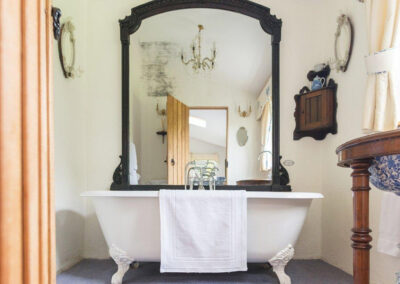 The bathroom at The Folly, Bratton Fleming
