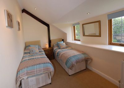 Bedroom #2 at The Furrow, Tedburn St Mary