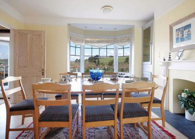 The dining area @ The Gables