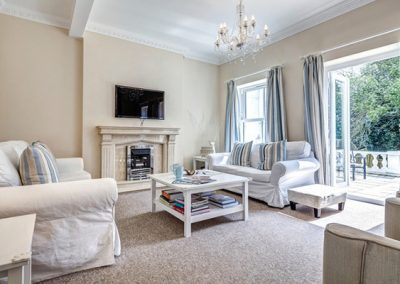 The living area @ The Hamptons, Torquay